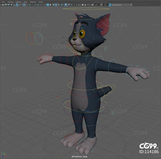 Tom rig full rigged textured a
