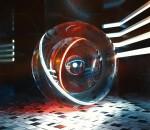 创意 幻想 玻璃球 室内 模型 场景