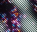 创意 幻想 发光 条纹 模型 场景