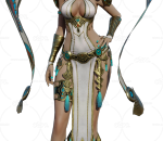 Overhit Cleopatra 短发 法师 美女