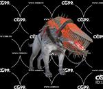 PBR 欧美 日系 游戏模型 地狱 恶犬 畸形犬