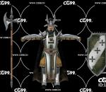 PBR 欧美 角色 游戏模型 中世纪 欧洲战士