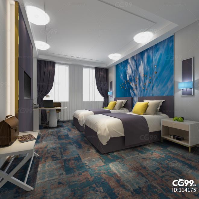 现代风格酒店套房