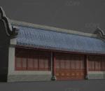 古代建筑商铺书房