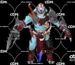 PBR 欧美 角色 游戏模型 恶魔 怪物 邪恶生物