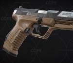 次时代PBR 写实 武器 枪械 P99手枪