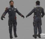 次时代PBR 写实 科幻 人物角色 舰长 宇航员