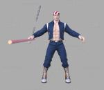游戏影视 3d模型 人物 角色 拳皇 比利