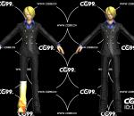 二次元 动漫 游戏模型 海贼王 香吉