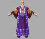 游戏影视 3d模型 人物 角色 拳皇 龙符 吉斯