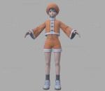 拳皇 3D模型 CG次时代 人物 阿宝
