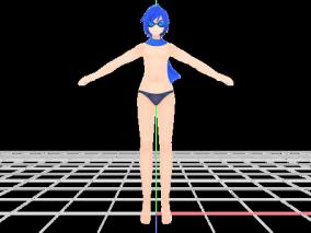 MMD角色模型