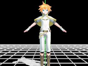 动漫MMD角色模型