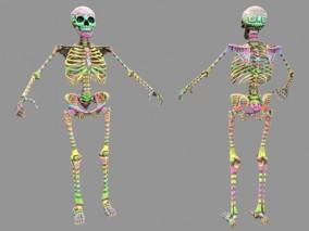 次时代PBR 写实 科学 医疗 迷彩骷髅