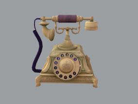 电话cg模型