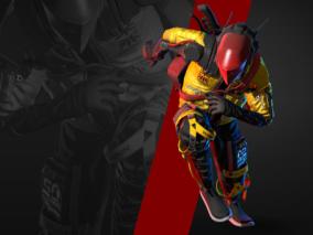 次时代PBR 科幻 赛博朋克 角色 武士 忍者