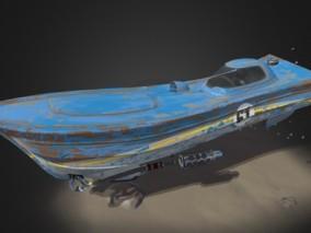 次时代 现代 海上交通工具 载具 快艇飞艇