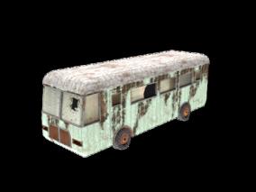 巴士3d模型