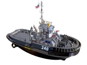 次时代PBR 写实 海上交通工具 载具 军事拖船