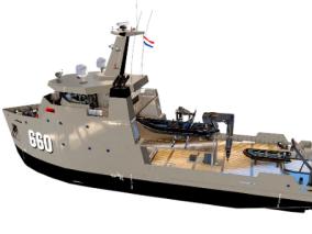 次时代PBR 写实 海上交通工具 载具 军事多用途辅助船