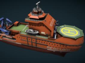 Rescue ship _ 4K 救援船