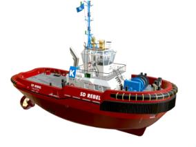 次时代PBR 写实 高清 海上交通工具 拖船