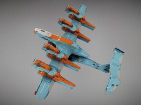次时代 未来 科幻 Star Valor UAV战机