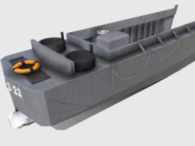 次时代PBR 未来 科幻 船只载具 军事登陆舰