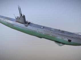 次时代PBR 未来 科幻 军事载具 苏联潜艇