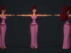 次时代PBR 高清 王者之心3 角色 迪士尼公主