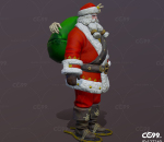 圣诞老人 圣诞老公公 圣诞节 西方老人 圣诞装 老头 长者