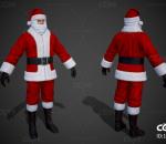 写实圣诞老人 圣诞老公公 圣诞节 西方老人 圣诞装 老头