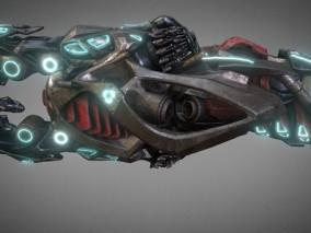 未来激光炮 科幻 武器 外太空