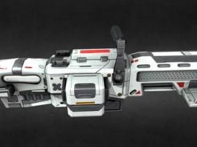 未来轨道炮 科幻 武器 激光炮