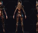 神奇女侠 金鹰 盖尔·加朵 女战士 DC 次时代PBR