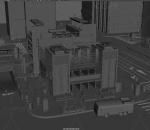 精致城市场景 高楼大厦 现代城市 3种格式