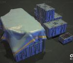 PBR-精细科幻盒子 武器箱