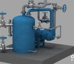 脱水塔水环式真空泵  水泵 工业设备 机械