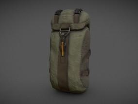 露营用背包 背囊 场景道具模型合集