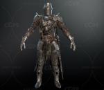 中世纪黑暗骑士 高清 写实 次时代PBR