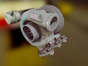 发动机涡轮增压器 机械设备 场景道具模型合集
