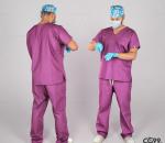 PBR手术中的男医生