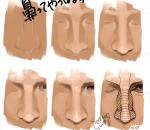 褶皱  脸部 造型 动作 参考 杂图 集合 手绘步骤