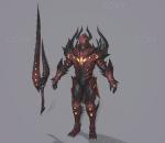 赤焰恶魔,怪物,黑暗复仇者3