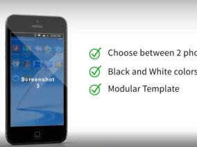 app使用 操作广告 视频模板AE
