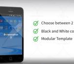 苹果 安卓 app使用 操作广告 视频模板AE