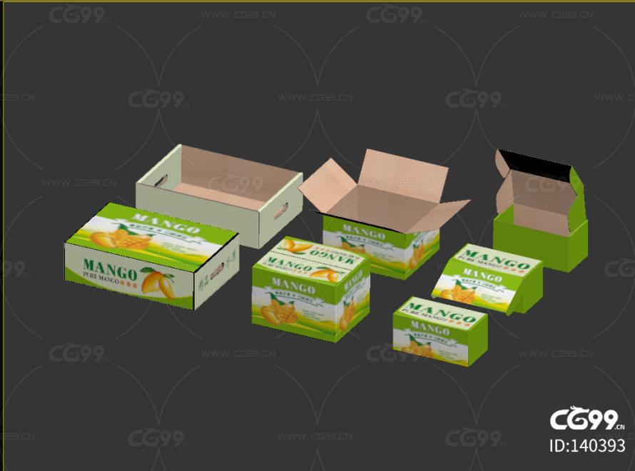 礼盒 包装盒 盒子 品牌包装 打开 半开 箱子