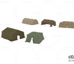 军用帐篷 高模 次时代游戏 军营 储物帐篷 营地帐篷 驻军帐篷 行军帐篷