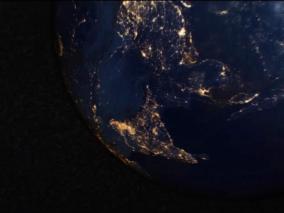 优雅地球标题展示视频模板