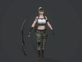 野战特种女兵,美女,黑暗复仇者3